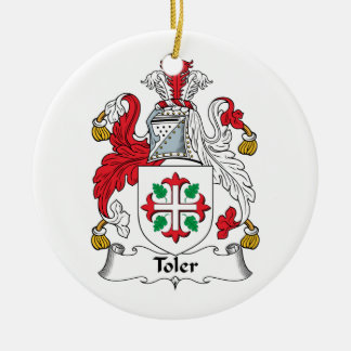 Toler Family Crest Ornaments