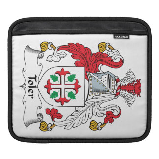 Toler Family Crest Sleeve For iPads