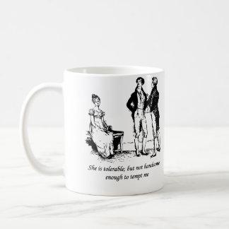 Tolerable - Pride and Prejudice Coffee Mugs