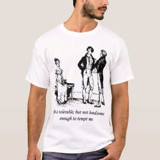 Tolerable - Pride and Prejudice T-Shirt