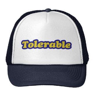 Tolerable Trucker Hat