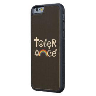 TOLERANCE CARVED® MAPLE iPhone 6 BUMPER CASE
