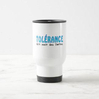 Tolérance doit avoir limites taza térmica