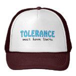 Tolerance must have limits baseball mützen