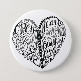 Tolerance of all People Pinback Button