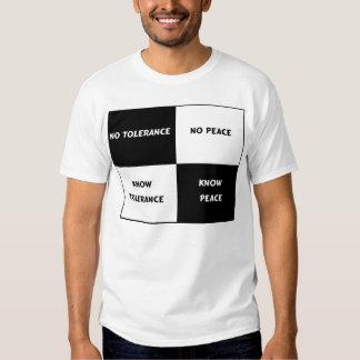Tolerance = Peace T-Shirt
