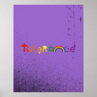 TOLERANCE PRIDE -.png Poster