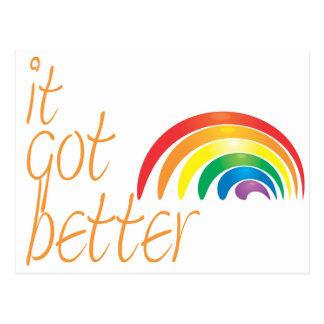 Tolerancia anti del gay del matón tarjeta postal