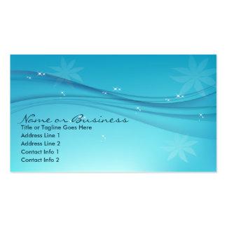 tolerancia azul tarjetas de visita
