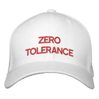 TOLERANCIA CERO - gorra de béisbol de encargo