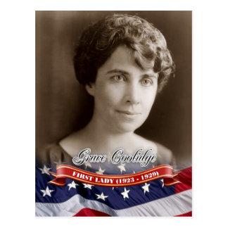 Tolerancia Coolidge primera señora de los E E U U Postales
