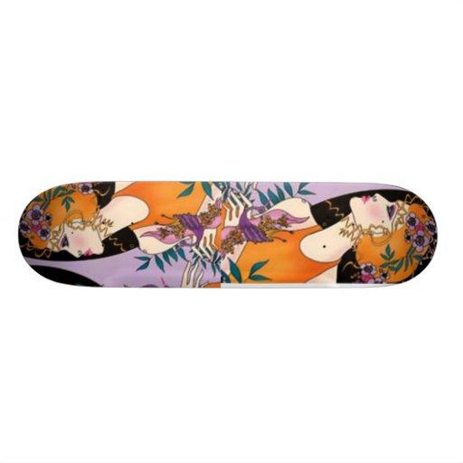 tolerancia de la belleza tabla de skate