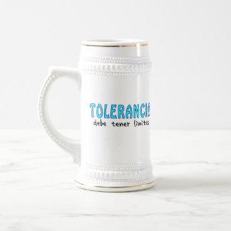 Tolerancia debe more tener límites beer stein