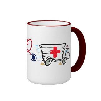 Tolerancia del hospital del doctor Nurse Medic EMT Taza A Dos Colores