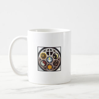 Tolerancia religiosa taza de café