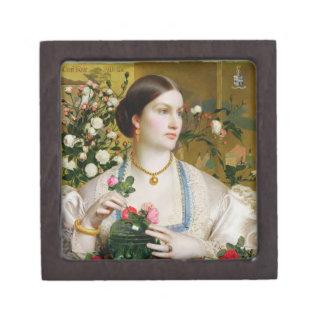 Tolerancia subió, 1866 (aceite en el panel) cajas de joyas de calidad