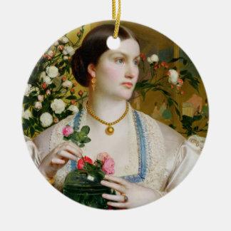 Tolerancia subió, 1866 (aceite en el panel) ornamente de reyes