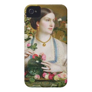Tolerancia subió, 1866 (aceite en el panel) iPhone 4 Case-Mate cárcasas