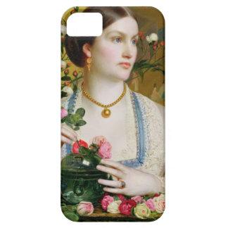 Tolerancia subió, 1866 (aceite en el panel) iPhone 5 Case-Mate cárcasas
