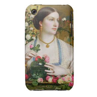 Tolerancia subió, 1866 (aceite en el panel) Case-Mate iPhone 3 protector