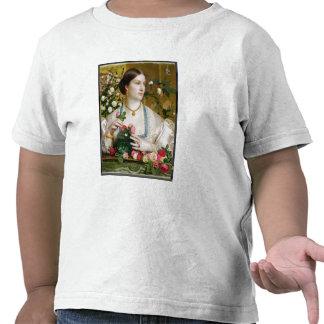 Tolerancia subió, 1866 (aceite en el panel) camisetas