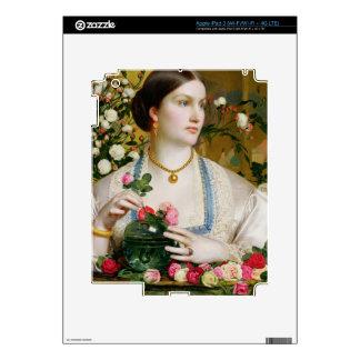 Tolerancia subió, 1866 (aceite en el panel) pegatina skin para iPad 3