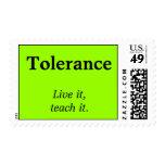 Tolerancia   viva, le enseña envio