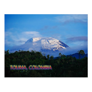 Tolima Colombia Travel Post Card
