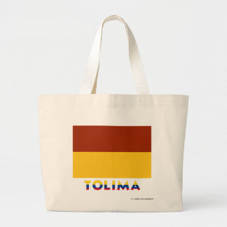 Tolima Flag with Name Tote Bags