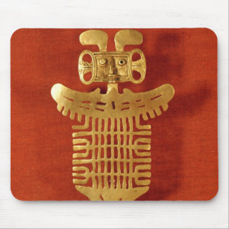 Tolima ornament in the form of a human-headed mouse pad