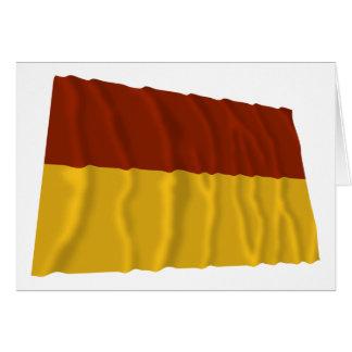 Tolima Waving Flag Card