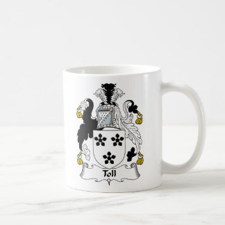 Toll Family Crest Mugs