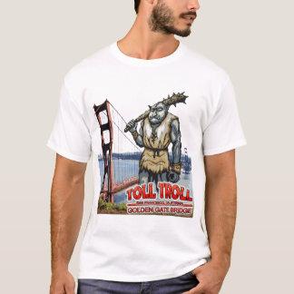 Toll Troll Golden Gate Bridge Destroyed T-Shirts