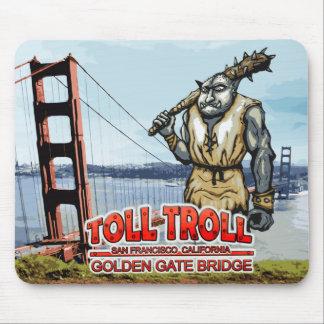 Toll Troll Golden Gate Bridge Mousepads