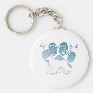 Toller Granddog Keychains