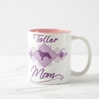 Toller Mom Two-Tone Mug