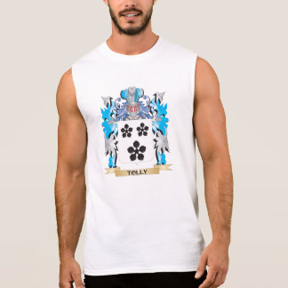 Tolly Coat of Arms - Family Crest Sleeveless T-shirt