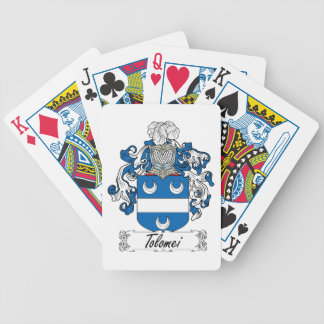 Tolomei Family Crest Deck Of Cards