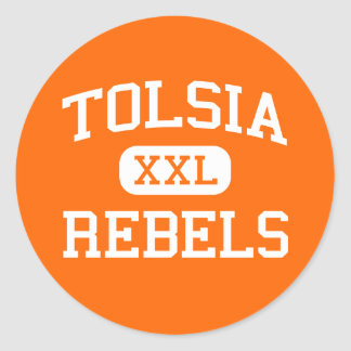 Tolsia - Rebels - High - Fort Gay West Virginia Classic Round Sticker