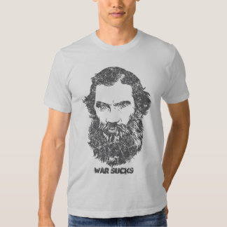 Tolstoy Customizable Distressed T-Shirt