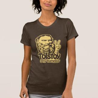 Tolstoy es mi camiseta del Homeboy Poleras