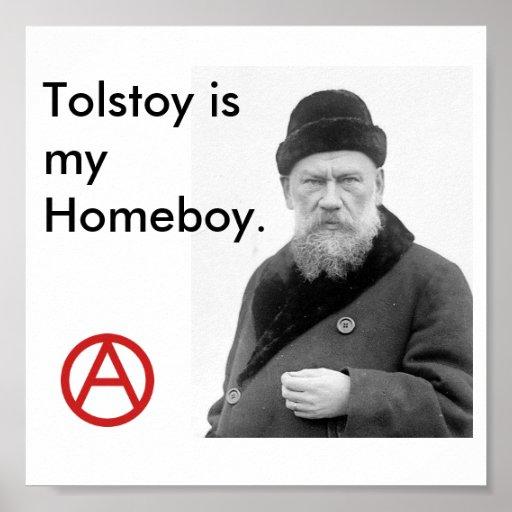 Tolstoy es mi poster de Homeboy_Anarchy