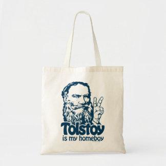 Tolstoy es mi tote del Homeboy Bolsa Tela Barata