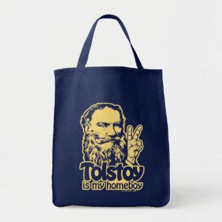 Tolstoy es mi tote del Homeboy Bolsas De Mano