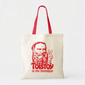 Tolstoy es mi tote del Homeboy Bolsas