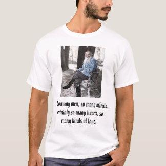 tolstoy, If so many men, so many minds, certain... T-Shirt