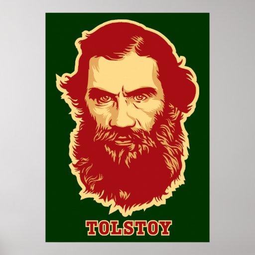 Tolstoy Poster