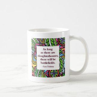 Tolstoy Quote Coffee Mug