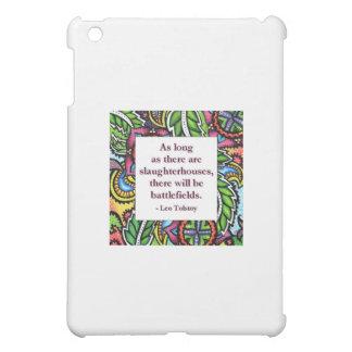 Tolstoy Quote iPad Mini Covers