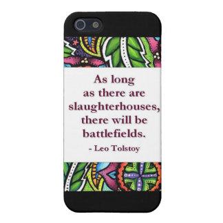 Tolstoy Quote iPhone SE/5/5s Case